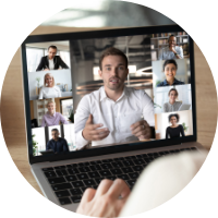 man-speaking-on-video-call-focus-groups-consulting